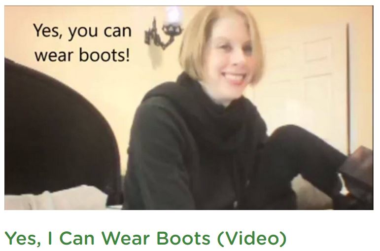 Yes You Can Wear Boots