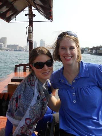 Dubai abra Abby and Jenny